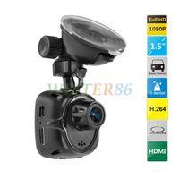 Wholesale Super Mini Camera Full HD P Mini Car DVR Video Recorder With G Sensor H MOV TFT Screen Freeshipping