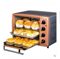 Wholesale Ovens Toasters Home baked cake multi function oven liters large capacity Independent temperature control rotating spit up a