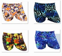 Wholesale 2016 AAA quality hot color size Fashion cool men boy summer beach surf spring swim trunks boxer man swim suit swimwear HOT