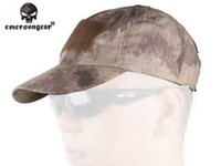Wholesale Tactical Baseball Cap Army Cap Headwear Emersongear Outdoor Shooting Combat Hiking Gear High Quality Material AT