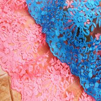 Wholesale Newest Design High Quality French Embroidery Mesh Lace African Net Tulle lace Fabrics For Wedding Dress Swiss Voile Lace Cloth