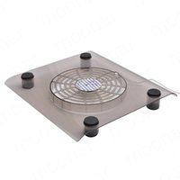 Wholesale High Qualirty inch Rotatable USB Fan Laptop Notebook PC Fans Cooler Cooling Pad Computer Peripherals Black