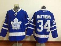 Wholesale Cheep NHL leafs Draft Matthews Blue winter classic Hockey Jerseys Stitched Jersey Mix Order