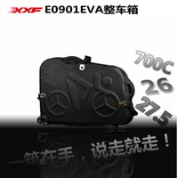 Wholesale 2016 Ciclo Computador Ciclocomputador Velocimetro XXF Bike Transport Travel Case Eva case tsa Ups Fedex Shipping Approved New black