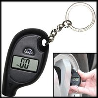 air pressure testing - by DHL or EMS Mini Keychain LCD Digital Car Tire Tyre Air Pressure Gauge Auto Motorcycle Test Tool