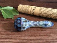 acrylic manufacture - New glass smoking pipe Manufacture hand blown and beautifully handcrafted spoon pipe cm length