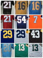 barry sanders throwback - Throwback Barry Sanders polamalu Dan Marino Eric Dickerson jerseys Jared Goff Deion Sanders John Elway Urlacher men Retro shirt