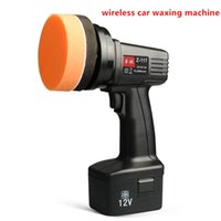 Wholesale Wireless car waxing machine portable V car polisher V rechargeable home floor beauty