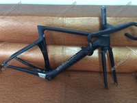 Wholesale 2016 Newest T800 Black Road Bike Frame Carbon Frame And Handlebar Size XXS XS S M available BB86 BB30 or BB68 adapter
