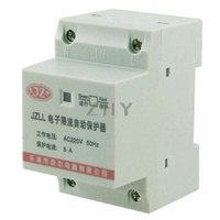 ac motor protection - AC220V A Pole P Overload Protector Motor Protection Controller mm DIN Rail