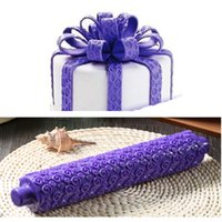 Wholesale XMAS Rolling Pin Fondant Cake Sugarcraft Embossed Decorating Mold Gum Paste Tool