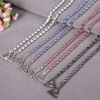 Wholesale 2016 Best Selling single row rhinestones bra strap jewelry bra strap shining shoulder bra strap colors pairs