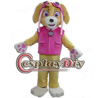 Wholesale Patrol Mascot Cartoon Patrol Skye Mascot Costume Custom made