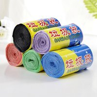 Wholesale new multicolor thick convenient environmental cleaning bag point break style plastic trash bag garbage bag waste bag
