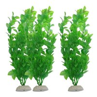 automatic water feeder for plants - Green Artificial Plastic Water Plant Grass for Fish Tank Aquarium Decor