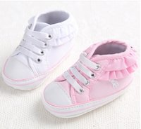 beautiful bb - 0 months girl toddler shoes new beautiful lace BB spring autumn casual shoes soft soled shoes child pair