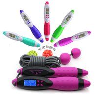 Wholesale High Quality New Multifunctional Electronic Counting Rope Exercise Skipping Jump Ropes m by DHL Free