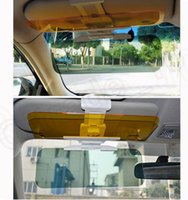 Wholesale LJJK301 Car Anti Glare Goggle Day Night Vision Driving Mirror Sun Visors Clip Board HD Vision Dazzling Goggle Vision Block Sunglass