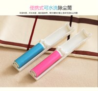 Wholesale Water washing sticky hair is dust sticky hair roller roller recycled wool clothing suction brush dusting brush device