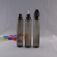 Wholesale 5ml ml ml ml ml ml Transparent Black PET Empty Bottle E liquid Long Slim Dropper Bottles Pen Style Plastic Unicorn Bottles