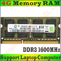 Wholesale High Quality Original Samsung Memory RAM PC3 g GB g GB DDR3 MHz FOR Laptop Notebook PC Compatible MHz PC3 S PROM5