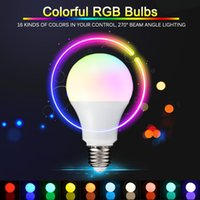 led rgb remote bulb 5w - NEW E27 RGB LED Lamp W W W LED RGB Bulb Light Lamp V V Remote Control Color Change Lampada LED