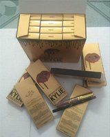 Wholesale 12 color Kylie Cosmetics Matte Lipstick lip gloss Kit set Lip birthday limited edition gold lip gloss lip liner set