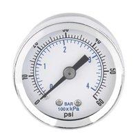 air compressor mount - NPT Air Compressor Hydraulic Pressure Gauge PSI Back Mount Worldwide Store