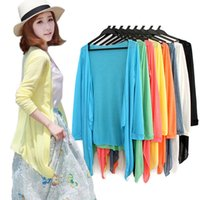 Wholesale Hot Selling New Women Long Sleeve Cardigan Capes jersey mujer Tops Casual Thin knitted Sweater Outwear pull femme Cheap
