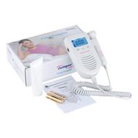 Wholesale Portable High Sensibility Back Light AngelSounds Fetal Doppler Weeks Baby Heart Rate Doppler Device For Pregnant Women