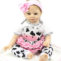 Wholesale Lifelike inch Handmade Doll Baby Doll Reborn Soft Silicone Newborn Babies Dolls Collectible Finished Doll