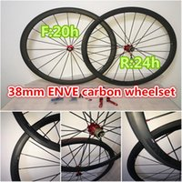 best road wheels - Best selling black logo mm carbon wheels road bicycle wheelset full carbon wheels with K Weave mm width A271 hub