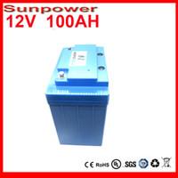 battery inverters - 12v lithium ion battery lifepo4 v ah lifepo4 battery for Speakers emergency lights inverters fishing lights electric bike battery
