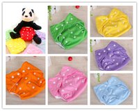 Wholesale Baby Diapers Washable Cloth Nappy Diaper Baby Washable Pocket Nappy Cloth Reusable Diaper Cover Wrap Nappy