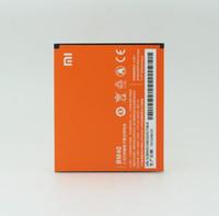 Wholesale 100 Original XiaoMi BM40 mAh Batterie für Xiaomi M2A A Mi2A Kostenloser Versand mit Bahnzahl