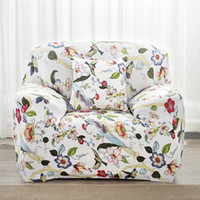 bedroom couch - Pastoral Styles Sofa Cover Sectional sofa Covers Elastic Sofa Covers Flower Printed Slipcover Couch Cover For Bedroom