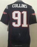 Wholesale NIK Elite Patriots Jamie Collins Brady Rob Gronkowski Stitched Embroidery Logos America Football Jersey Sweatshirts