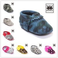 baby boy summer sandals - 2016 New Baby Shoes Fashion Tassels Design Kids Shoes Soft PU Leather Camouflage Toddlers Sandals Girls Boys Shoes