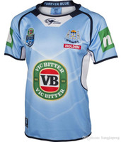 Wholesale New best quality free send New South Wales Blues State Of Origin Classic Sportswear Shirt