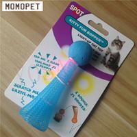 ball jump toy - Pet products green yellow blue cat toys flash jump ball Kitty fun Bopper Light jump ball toy cat