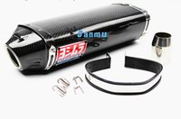 accord exhaust - Full Real Carbon Fiber Modified yoshimura Motorcycle Undertail Muffler Exhaust Pipe With Amazing Sound Honda CBR600 CBR1000 YZF FZ400 Z750