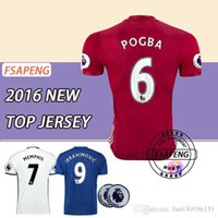 Wholesale best thai quality MancHESTER IBRAHIMOVIC jerseys AWAY BLUEThe spring and autumn period and the sport shirt ROONEY unITED footba