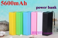 Wholesale 200pcs External Perfume Portable Battery mah universal USB Power bank charger for iPhone Samsung HTC with retail box