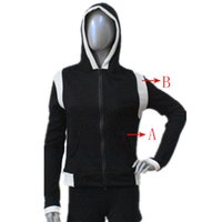 ballet jacket - Dance Top Flannel Black and White Hoodie Jacket Long Sleeve for Ladies and Girls Practice Full Sizes More Colors Available