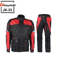 Wholesale 2016 motorcycle racing suit clothes jacket coverall with Cotton Liner Motocross Windproof Clothing eleven Protector Gear