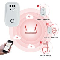 Wholesale Aiyart Smart Power Plug intelligent outlet Pivot Power Genius Power Socket Universal Plugs Outlet Smart WiFi Plug white