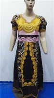 Wholesale Y African Bazin rich dress traditional fashion women s clothing embroidery craft lady casual wear L2612
