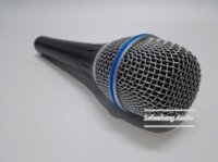 beta computer - Top Quality Beta A Clear Sound Handheld Wired Karaoke Microphone Cheap microphone bluetooth High Quality karaoke computer microphone