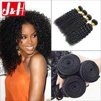 Cheap 4 Bundles Kinky Curly Virgin Hair Extensions Brazilian Hair Peruvian Hair Malaysian Hair Weaves Wholesale Hair Bundles Cheap Virgin Hair