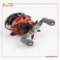 Wholesale ILURE High Quality Bait Casting Fishing Reel g Bearing BB Fishing Reel drop shipping